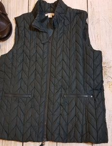Cold water creek quilted vest